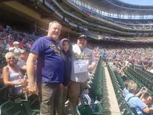 Val attended Minnesota Twins vs Oakland Athletics - MLB on Jul 21st 2019 via VetTix
