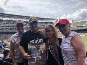 Adam attended Minnesota Twins vs Oakland Athletics - MLB on Jul 21st 2019 via VetTix