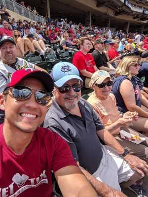 Matthew attended Minnesota Twins vs Oakland Athletics - MLB on Jul 21st 2019 via VetTix