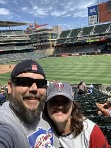 Charles attended Minnesota Twins vs Oakland Athletics - MLB on Jul 21st 2019 via VetTix