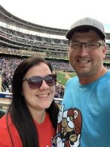 Christopher attended Minnesota Twins vs Oakland Athletics - MLB on Jul 21st 2019 via VetTix