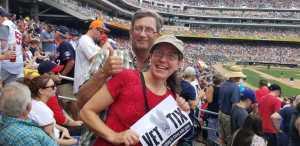 John attended Minnesota Twins vs Oakland Athletics - MLB on Jul 21st 2019 via VetTix