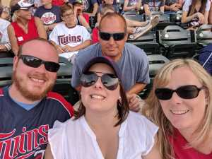 Tyler attended Minnesota Twins vs Oakland Athletics - MLB on Jul 21st 2019 via VetTix