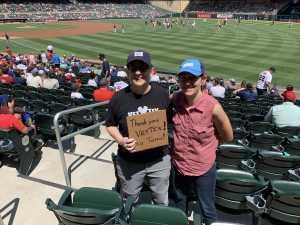 Carol attended Minnesota Twins vs Oakland Athletics - MLB on Jul 21st 2019 via VetTix