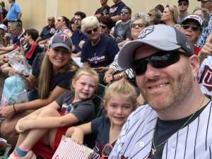 Brian attended Minnesota Twins vs Oakland Athletics - MLB on Jul 21st 2019 via VetTix