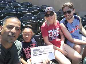 Carlos attended Minnesota Twins vs Oakland Athletics - MLB on Jul 21st 2019 via VetTix