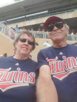 Roger attended Minnesota Twins vs Oakland Athletics - MLB on Jul 21st 2019 via VetTix