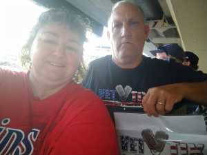 Thomas attended Minnesota Twins vs Oakland Athletics - MLB on Jul 18th 2019 via VetTix