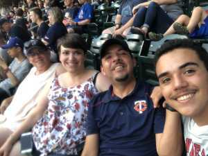 David attended Minnesota Twins vs Oakland Athletics - MLB on Jul 18th 2019 via VetTix