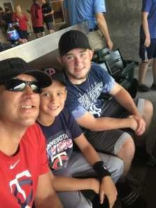 Mitchell attended Minnesota Twins vs Oakland Athletics - MLB on Jul 18th 2019 via VetTix