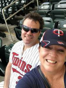 Linsey attended Minnesota Twins vs Oakland Athletics - MLB on Jul 18th 2019 via VetTix