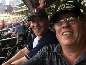 Jim attended Minnesota Twins vs Oakland Athletics - MLB on Jul 18th 2019 via VetTix