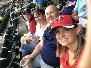 Kristy attended Minnesota Twins vs Oakland Athletics - MLB on Jul 18th 2019 via VetTix