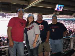 Troy attended Minnesota Twins vs. New York Yankees - MLB on Jul 22nd 2019 via VetTix