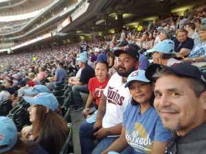 Robert attended Minnesota Twins vs. New York Yankees - MLB on Jul 22nd 2019 via VetTix