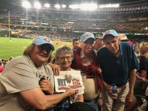 JOSEPH attended Minnesota Twins vs. New York Yankees - MLB on Jul 22nd 2019 via VetTix