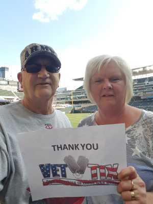 MARTY attended Minnesota Twins vs. New York Yankees - MLB on Jul 22nd 2019 via VetTix