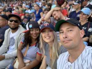 DJ  attended Minnesota Twins vs. New York Yankees - MLB on Jul 22nd 2019 via VetTix
