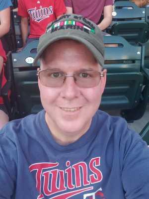 Mark attended Minnesota Twins vs. New York Yankees - MLB on Jul 22nd 2019 via VetTix