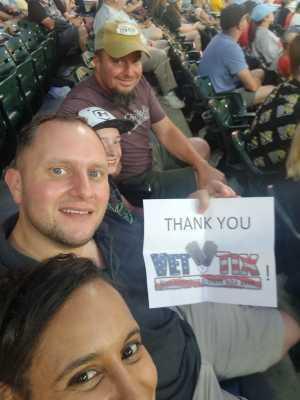 Jamal attended Minnesota Twins vs. New York Yankees - MLB on Jul 22nd 2019 via VetTix