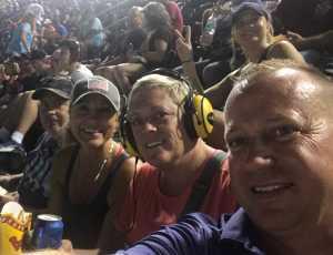 Tobin attended Bojangles' Southern 500 - Monster Energy NASCAR Cup Series on Sep 1st 2019 via VetTix