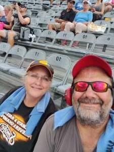 JEFF attended Bojangles' Southern 500 - Monster Energy NASCAR Cup Series on Sep 1st 2019 via VetTix