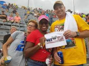 Sherry attended Bojangles' Southern 500 - Monster Energy NASCAR Cup Series on Sep 1st 2019 via VetTix