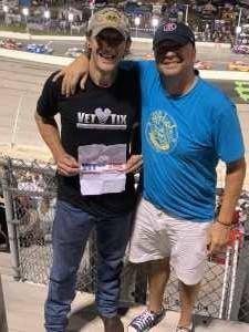Sam Fogle attended Bojangles' Southern 500 - Monster Energy NASCAR Cup Series on Sep 1st 2019 via VetTix