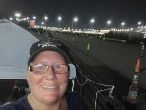 Jennifer attended Bojangles' Southern 500 - Monster Energy NASCAR Cup Series on Sep 1st 2019 via VetTix