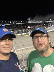 Matthew Morrison attended Bojangles' Southern 500 - Monster Energy NASCAR Cup Series on Sep 1st 2019 via VetTix