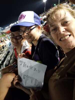 Juliet attended Bojangles' Southern 500 - Monster Energy NASCAR Cup Series on Sep 1st 2019 via VetTix