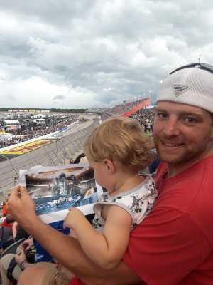 michael attended Bojangles' Southern 500 - Monster Energy NASCAR Cup Series on Sep 1st 2019 via VetTix