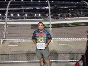 Scott R attended Bojangles' Southern 500 - Monster Energy NASCAR Cup Series on Sep 1st 2019 via VetTix