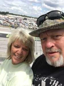 Jesse attended Bojangles' Southern 500 - Monster Energy NASCAR Cup Series on Sep 1st 2019 via VetTix