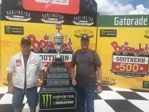 THOMAS attended Bojangles' Southern 500 - Monster Energy NASCAR Cup Series on Sep 1st 2019 via VetTix
