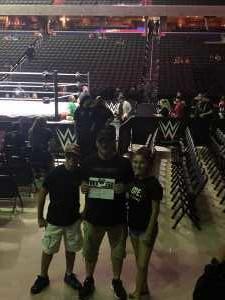 steven attended WWE Live: Summerslam Heatwave Tour - Wrestling on Jul 6th 2019 via VetTix