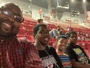 Orell attended The Dude Perfect Pound It Noggin Tour - Viejas Arena on Jul 11th 2019 via VetTix