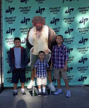 Edwin attended The Dude Perfect Pound It Noggin Tour - Viejas Arena on Jul 11th 2019 via VetTix