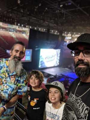Lucas attended The Dude Perfect Pound It Noggin Tour - Viejas Arena on Jul 11th 2019 via VetTix