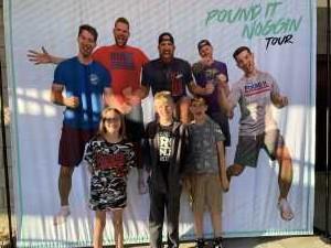 KYLE attended The Dude Perfect Pound It Noggin Tour - Viejas Arena on Jul 11th 2019 via VetTix