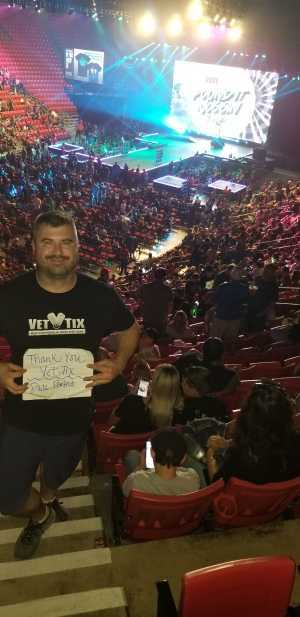 Jeremiah attended The Dude Perfect Pound It Noggin Tour - Viejas Arena on Jul 11th 2019 via VetTix