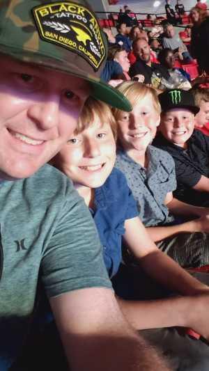 Dustin attended The Dude Perfect Pound It Noggin Tour - Viejas Arena on Jul 11th 2019 via VetTix