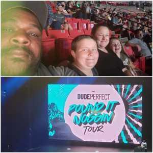 CHRISTOPHER attended The Dude Perfect Pound It Noggin Tour - Viejas Arena on Jul 11th 2019 via VetTix