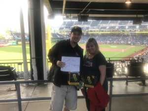 James attended Pittsburgh Pirates vs. St. Louis Cardinals - MLB on Sep 7th 2019 via VetTix