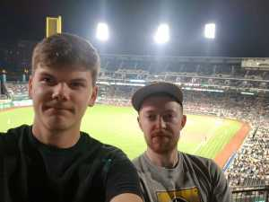 Tyler attended Pittsburgh Pirates vs. St. Louis Cardinals - MLB on Sep 7th 2019 via VetTix