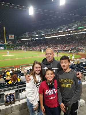 DH attended Pittsburgh Pirates vs. St. Louis Cardinals - MLB on Sep 7th 2019 via VetTix