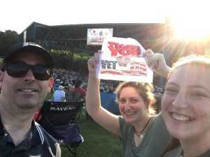 Brian attended Train & Goo Goo Dolls - Pop on Jul 14th 2019 via VetTix