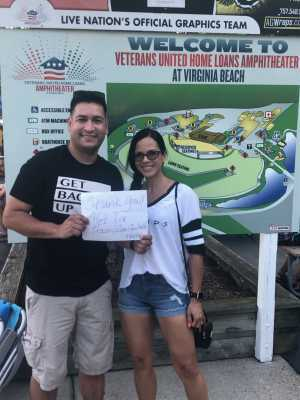 Kayri attended Train & Goo Goo Dolls - Pop on Jul 14th 2019 via VetTix