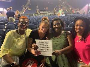 Latonya attended Lionel Richie - R&b on Jul 10th 2019 via VetTix