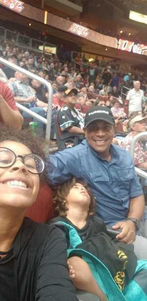 Ashley attended Arizona Rattlers vs. Sioux Falls Storm - IFL - 2019 United Bowl on Jul 13th 2019 via VetTix